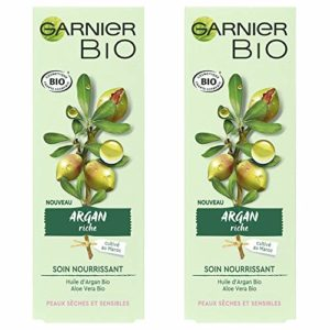 Garnier Bio Soin Nourrissant – Argan Riche 50.0 Ml – Lot de 2