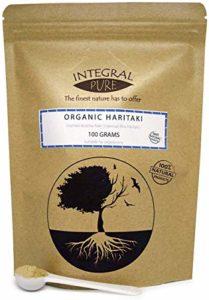 Haritaki Poudre | Certificat biologique| | 500mg| Haritaki Powder (85g)