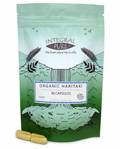 Haritaki Végétariennes Gélules | Certificat biologique| | 500mg| Haritaki Capsules (90 Capsules)