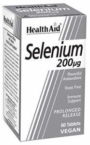 HealthAid Selenium 200ug – Prolong Release – 60 Tablets