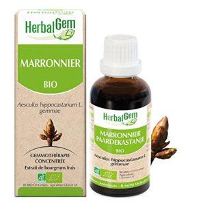 HerbalGem Macérats-Mères de Gemmothérapie Concentrée Marronnier Bio