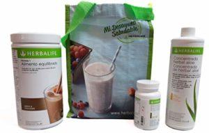 Herbalife Programme complet de perte de poids Goût chocolat