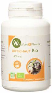 Herbes Et Plantes Artichaut Bio 200 Comprimés 400 mg