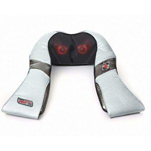 [Huemate] Hueplus Hpm-3500épaule et du cou masseur chauffant W/boule de massage thermique de massage Relax Soulagement de la douleur et porte-clés