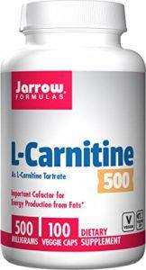 Jarrow Formulas – 100 Comprimés L-Carnitine 500 – 500 mg