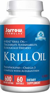 Jarrow Formulas, Huile de Krill, 60 gélules