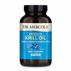 Krill Oil, 180 Fish Gelatin LiCaps – Dr Mercola