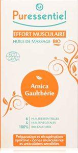 Laboratoire Puressentiel Huile de Massage Bio Effort Musculaire Format Economique