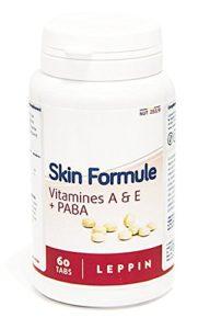 LEPPIN – SKIN FORMULE 60 comprimés – Formule SOLEIL/PEAU – Complémens alimentaires naturels