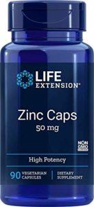 Life Extension, OptiZinc, Zinc de Haute Puissance Supérieure, 30 mg, 90 Capsules végétales