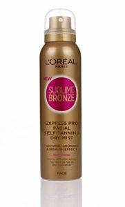 L'oréal – Lot de 6 spray sublime bronze – Express MIST – non tinted visage 75ml