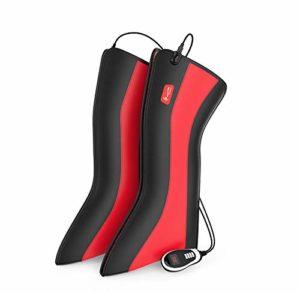 Masseur électrique de jambe de chauffage, approprié à l'arthrite ancienne de jambe froide, 7 genres de techniques de massage