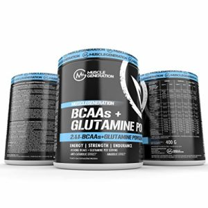 muscleg eneration BCAA + Glutamine Powder 400g Lot de 3