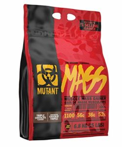 Mutant Mass Complément pour Sportif Chocolat 6,8 kg