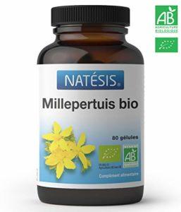 NATESIS Millepertuis Bio/Millepertuis 190 mg Dont Hypéricine 0,25 mg /80 Gélules