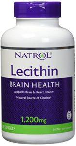 Natrol – Sojaa Lécithine 1200 mg – 120 Gélules