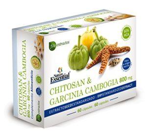 Nature Essential Chitosan et Garcinia Cambogia – 60 Capsules