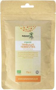 Natures Root Organic Tribulus Terrestris Powder 125 g – Certified Organic by the Soil Association