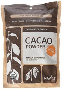 Navitas Naturals, poudre de Cacao, poudre de chocolat cru, 16 oz (454 g)