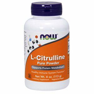 NOW Foods – L-Citrulline Pure Powder – 4 oz.