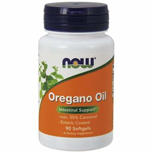 Now Foods, Huile d'origan ( Oregano Oil ) x90 Softgels – Min 55% Carvacrol