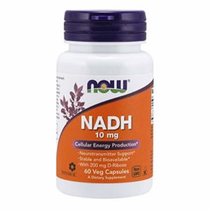 Now Foods Nadh, 10 Mg, 60 Vcaps