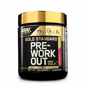 OPTIMUM NUTRITION Gold Standard Pre-Workout Limonade Fruits rouges 330g
