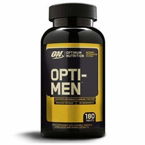 Optimum Nutrition Vitamines Opti Men 180 Tablettes