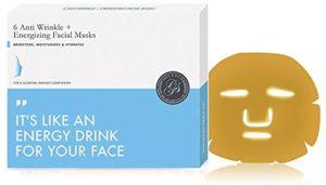 Or Masque Collagène Visage de gel facial bio-collagène (6 pièces) Anti-âge, raffermissant, hydratant, revitalisant, apaisant et rajeunissant – raffermissement visage!