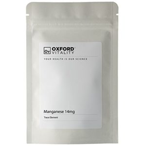 Oxford Vitality – Comprimés Manganèse 14mg