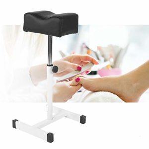 Pediküen Chaise avec repose-pieds, repose-pieds, repose-pieds, repose-pieds et repose-pieds avec roulettes pour cosmétiques professionnels Hauteur réglable pour pédicure Beauty Salon