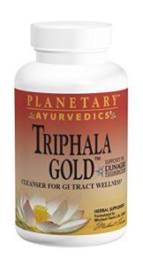 Planetary Herbals, Ayurvedics, Triphala Or, 1000mg x120tabs – Triphala Gold