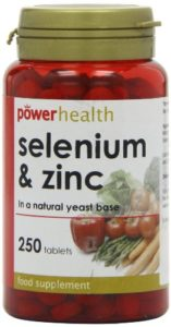 Power Health 100ug Selenium and 2mg Zinc Tablets – Pack of 250 Tablets