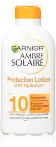Protection Milk de Ambre Solaire Lait Protecteur Anti-Dessechement FPS 10 200ml