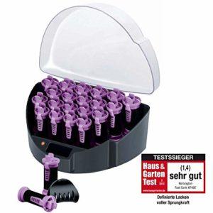 Remington Coffret Cheveux 20 Bigoudis Ioniques Chauffants et 20 Pinces, 3 Diamètres, Boucles Naturelles Sans Frisottis – KF40E