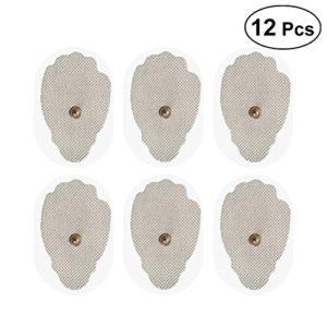ROSENICE Electro Pad 12pcs Tissu non tissé Ten Unit Pads for Tens Unit Electrodes Pads Replacement
