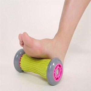 Rouleau de massage des pieds, FLYING_WE Muscle Roller Stick, poignet et Forearms Rouleau d'exercice pour Fasciite plantaire.