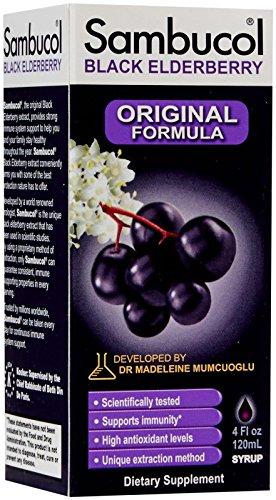 Sambucol Black Elderberry Original Syrup-4 oz by Sambucol