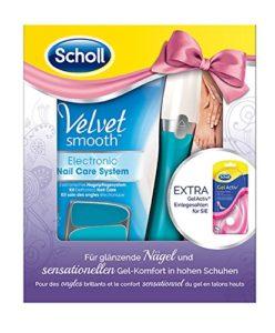 Scholl Velvet Smooth Kit soin des ongles électronique avec nagelpflegeöl
