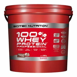Scitec Nutrition 100% Whey Protein Professional protéine choco-coco 5000 g