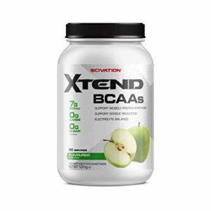 Scivation – Complément alimentaire Xtend – avec BCAA – pomme verte – 90 portions