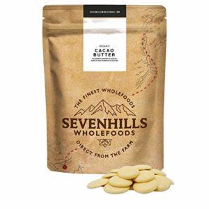 Sevenhills Wholefoods Beurre De Cacao Bio 500g