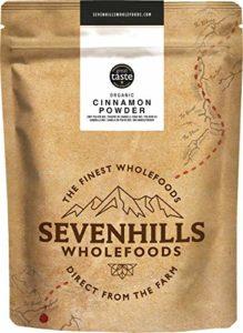 Sevenhills Wholefoods Poudre De Cannelle (Vrai Ceylan) Crue Bio 1kg