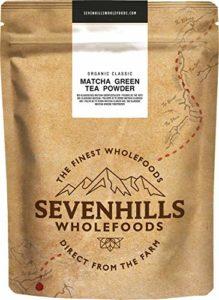 Sevenhills Wholefoods Poudre De Thé Vert Matcha Classique Japonais Bio 200g