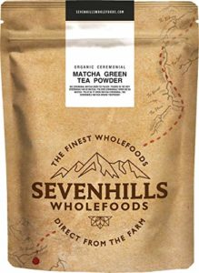 Sevenhills Wholefoods Poudre De Thé Vert Matcha De Ceremonie Japonais En Poudre Bio 200g