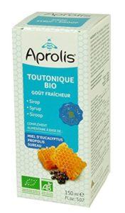 Sirop Bio TOUTONIQUE – Apaise et Purifie – Miel d'eucalyptus, Sureau et Camomille – 150ml