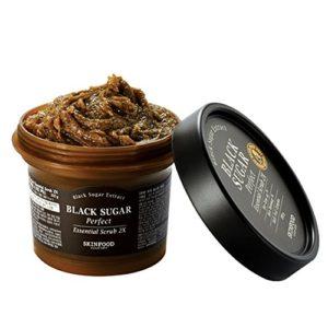 Skin Food 2015 New Black Sugar Perfect Essential Scrub 2X 7.41 Oz/210g by Skin Food