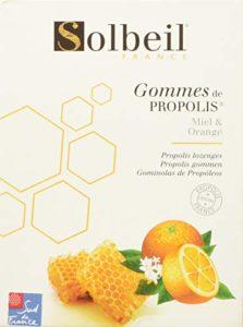 SOLBEIL Gommes de Propolis Miel/Orange