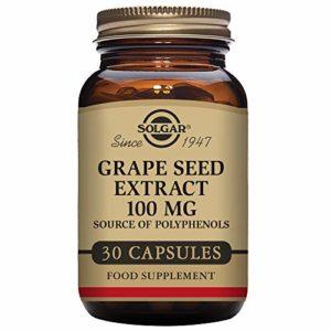 Solgar Extrait de Pépins de Raisin 100 mg 30 Gélules Végétales