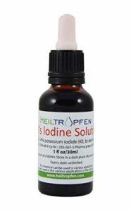 Solution iodo-ioduree selon Lugol 30ml. Fabriqué avec 7% d'iode et 14% d'iodure de potassium.